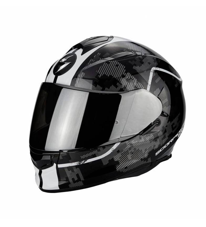 Comprar Scorpion Capacete completo SCORPION Exo 510 Guard preto, branco