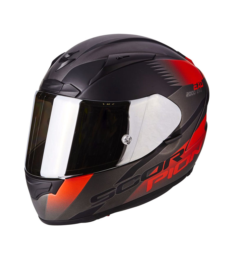 Comprar Scorpion Casque intégral Scorpion EXO 2000 AIR EVO Volcan rouge