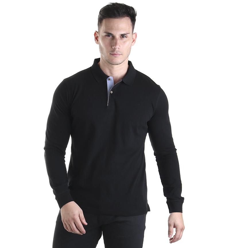 Comprar Seaman Brento black polo shirt