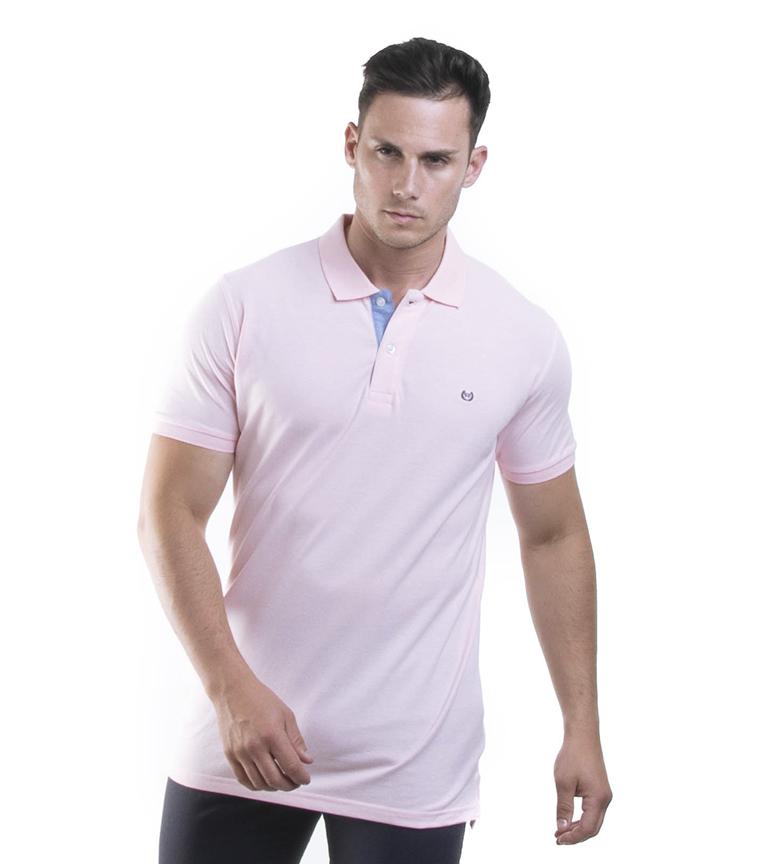 Comprar Seaman Camisa pólo Brent rosa