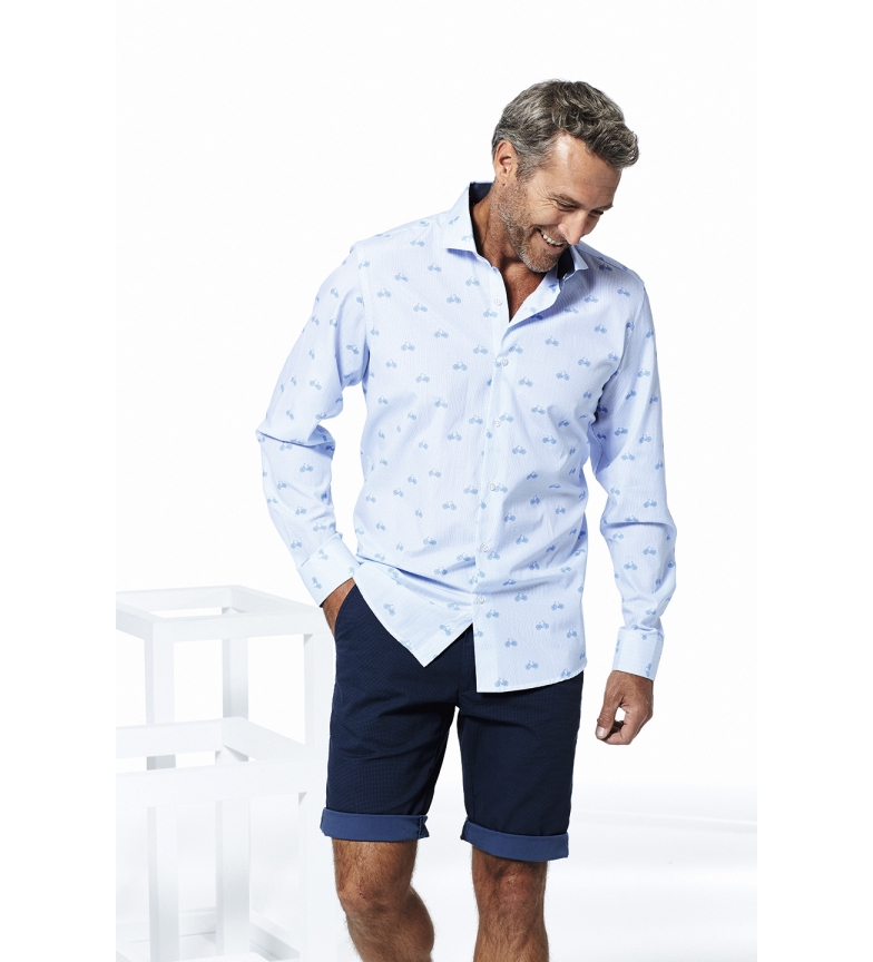 Comprar Seaman Camicia blu Wato