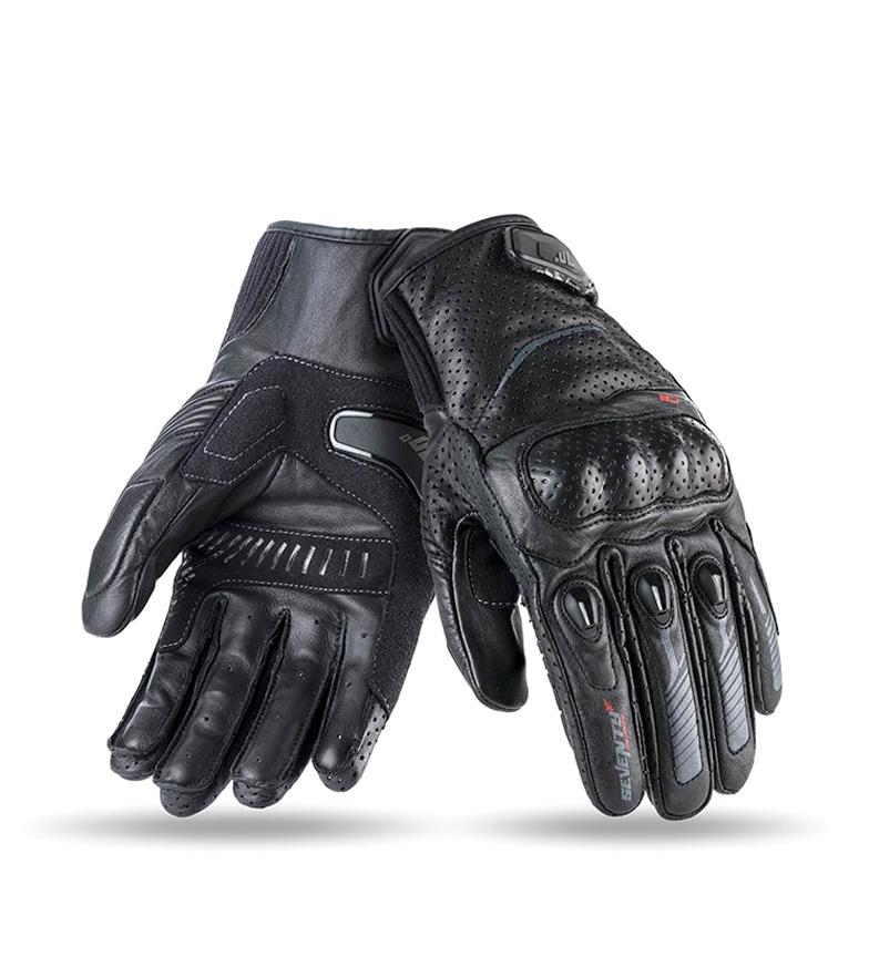 Comprar Seventy Luvas de couro SD-C8 Urban black, grey