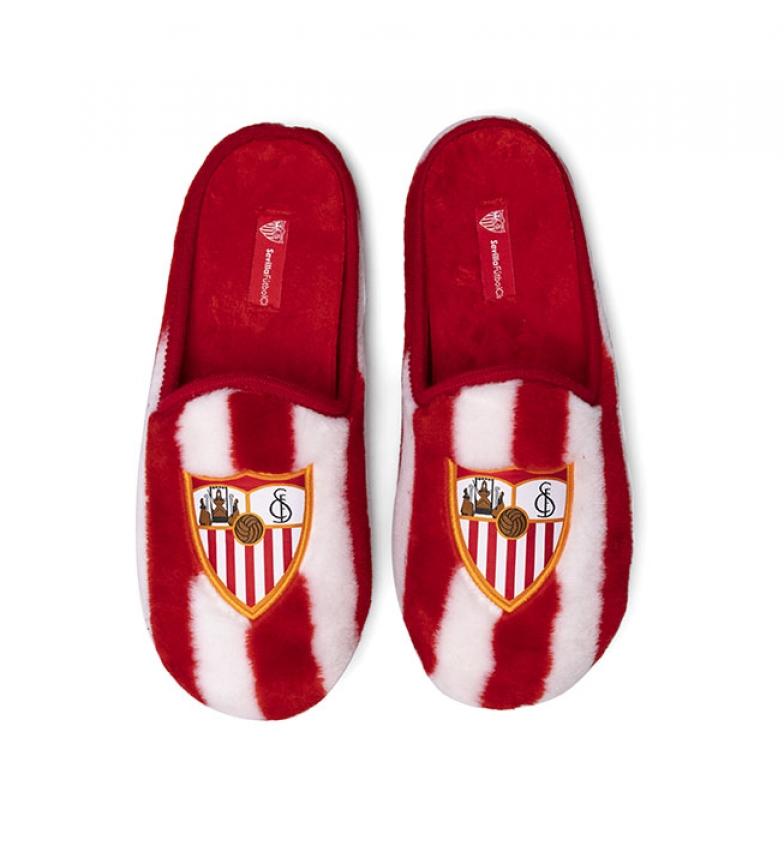 Comprar Sevilla FC Pantuflas CFA3SE rojo, blanco