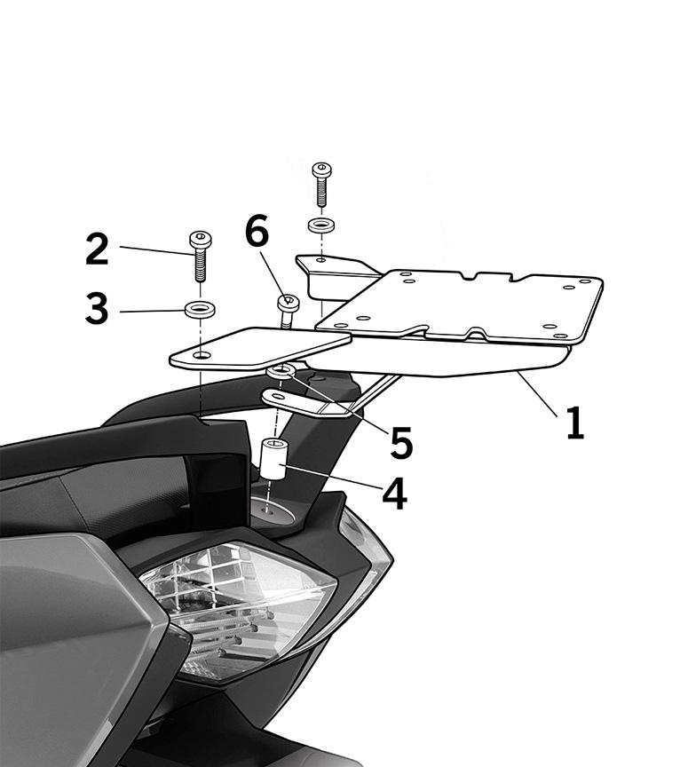 Comprar Shad Fixing system BMW C 650 GT '12