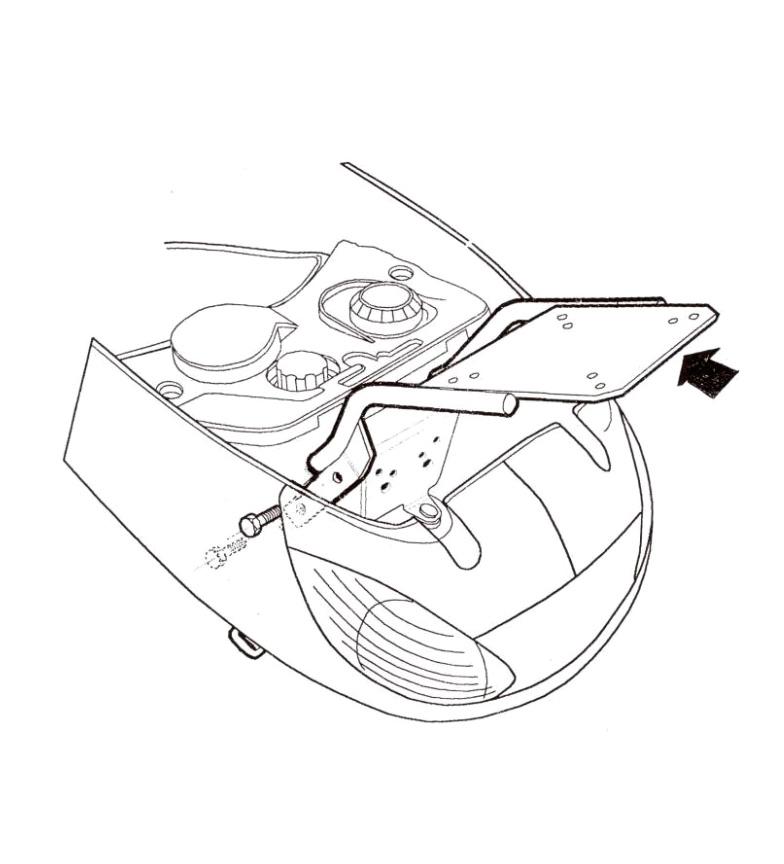 Comprar Shad Mounting system PEUGEOT VIVACITY 50 99