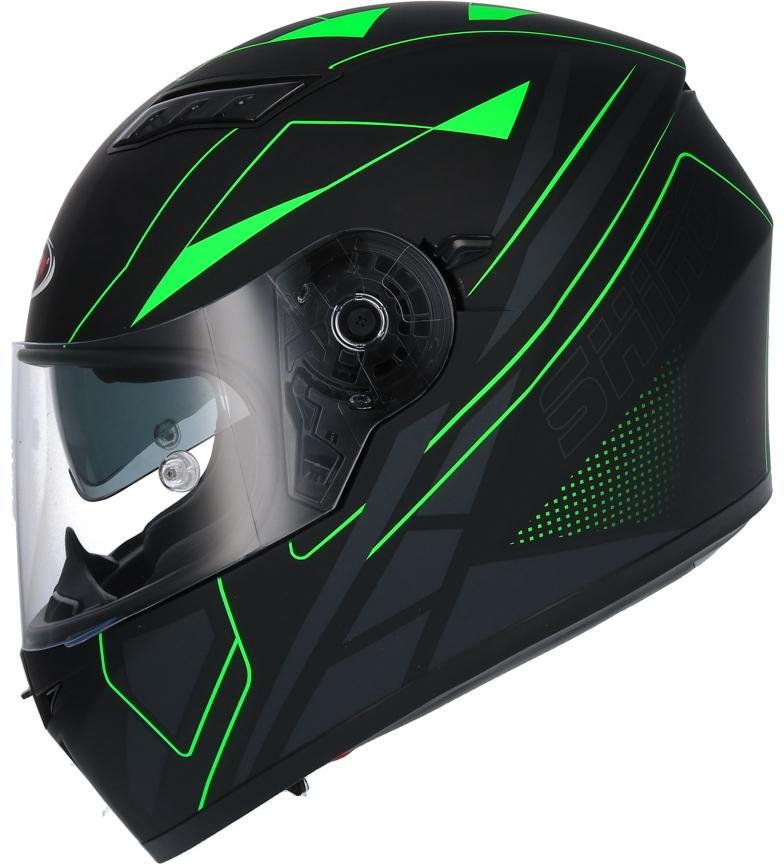 Comprar SHIRO HELMETS SH 600 Elite capacete integral capacete mate preto, verde