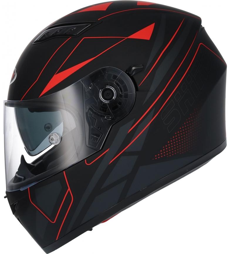 Comprar SHIRO HELMETS Casco integrale SH 600 Elite nero, rosso