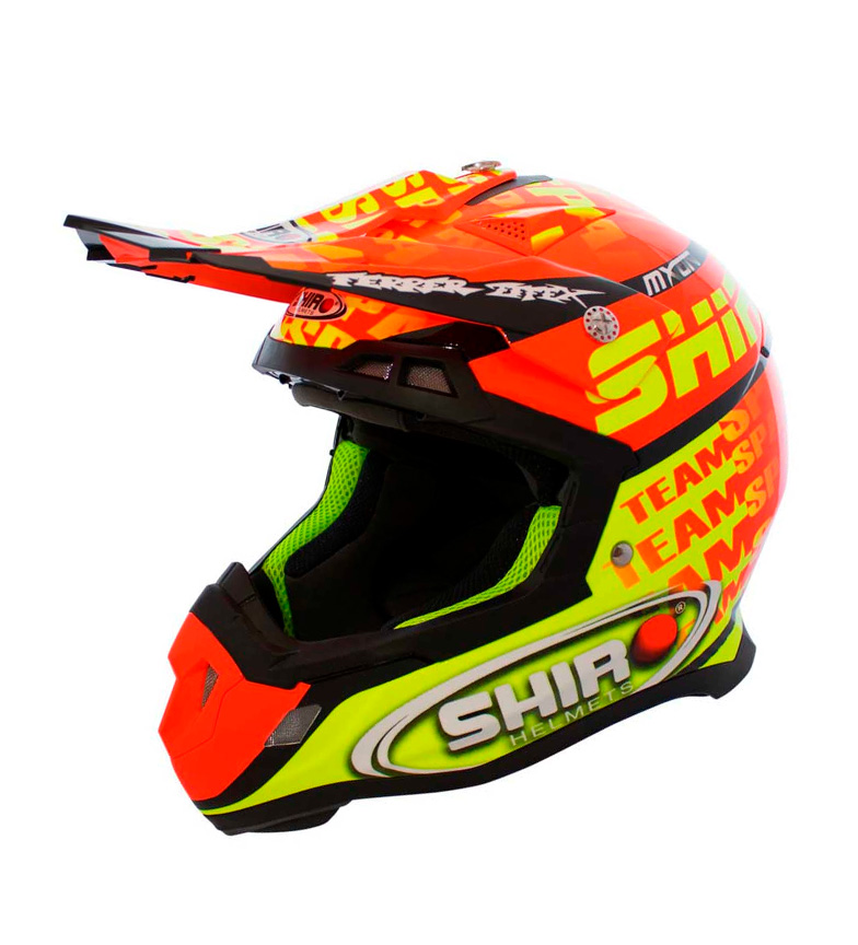 Comprar SHIRO HELMETS Casco Off Road SHIRO MX-917 MXoN KID