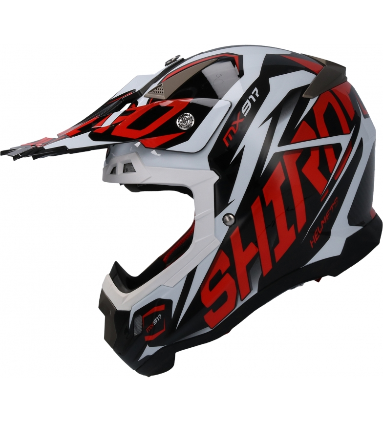 Comprar SHIRO HELMETS Casco Off Road SHIRO MX-917 Thunder rojo