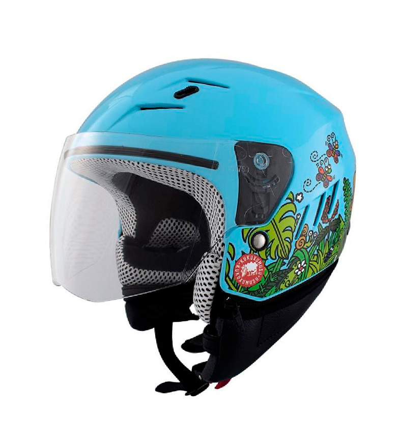Comprar SHIRO HELMETS Casque jet KID SHIRO SH-20 Forestan