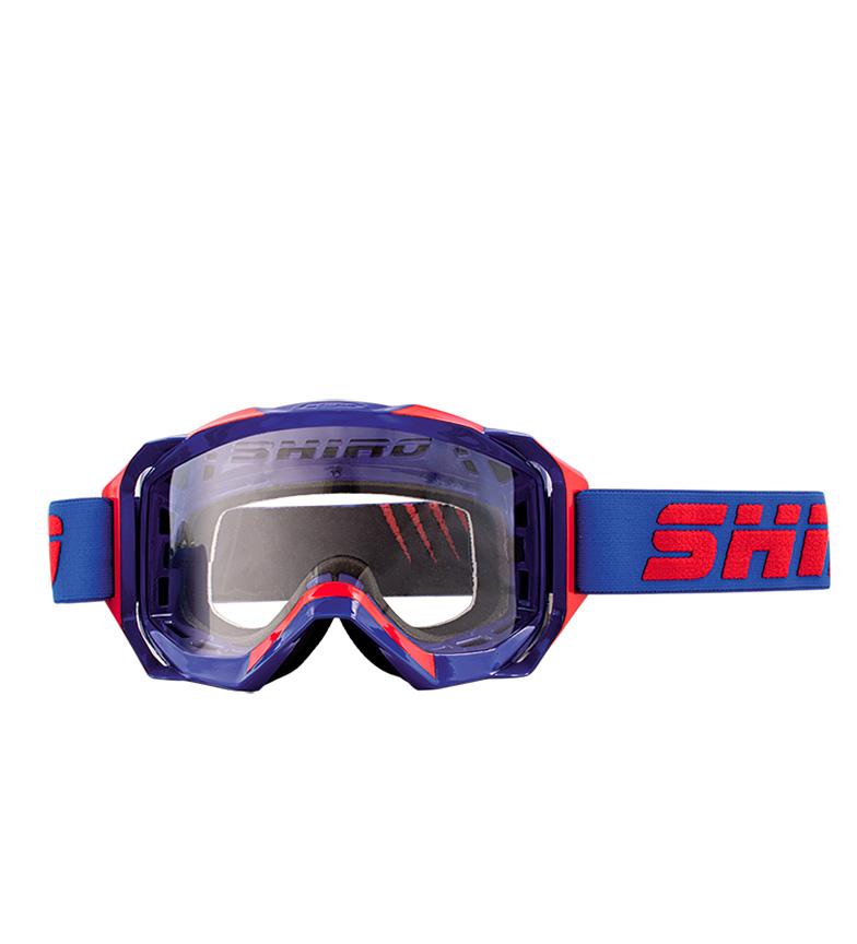 Comprar SHIRO HELMETS Glasses Off Road MX-903 PRO blue