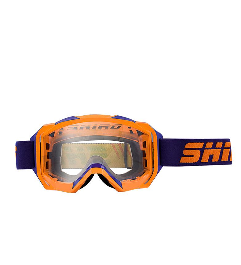 Comprar SHIRO HELMETS Occhiali Off Road MX-903 PRO Arancio