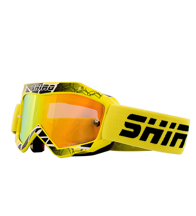 Comprar SHIRO HELMETS Occhiali Off Road MX-904 Yellow KIDS