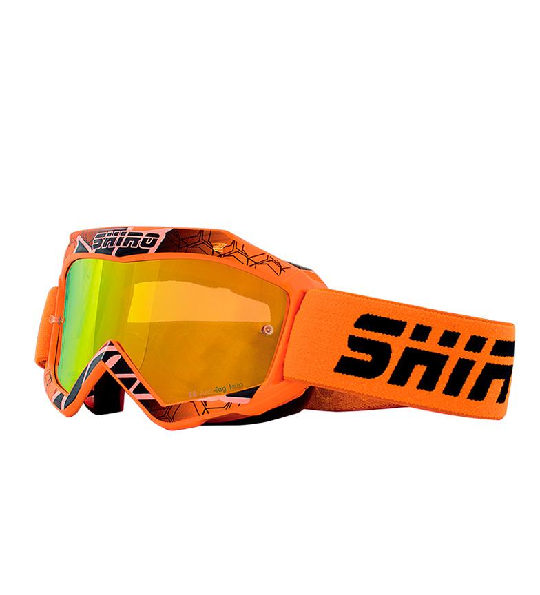 Comprar SHIRO HELMETS Occhiali Off Road MX-904 BAMBINI Arancione