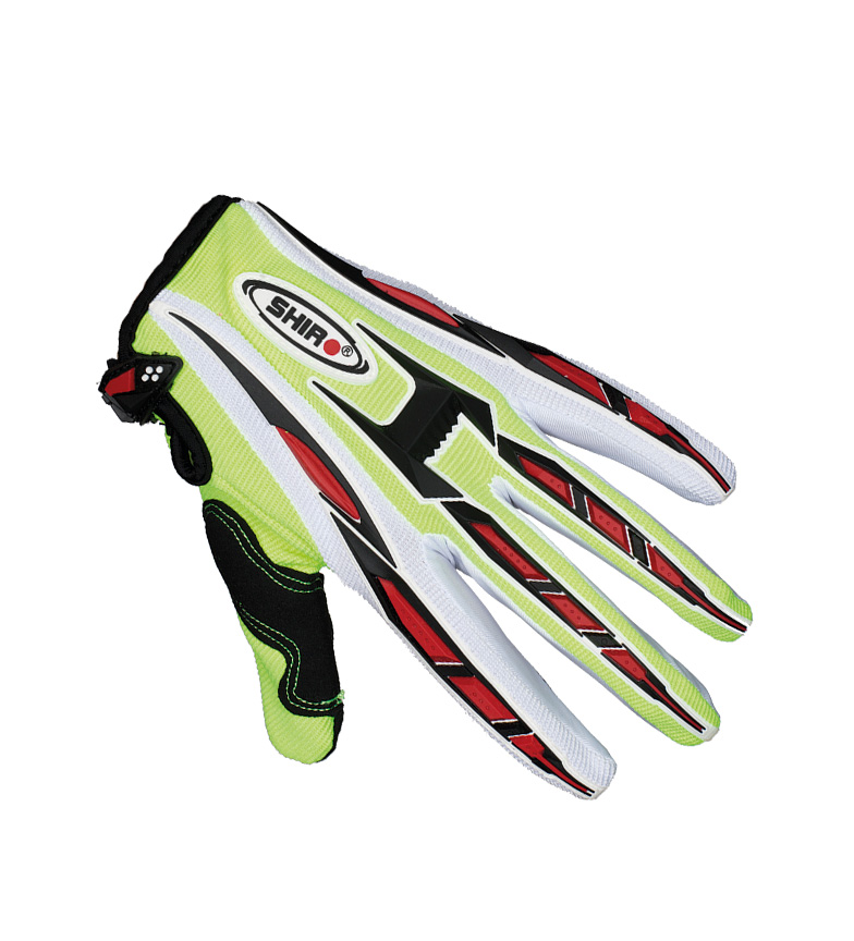 Comprar SHIRO HELMETS Guantes Off Road SHIRO MX-01 amarillo fluor
