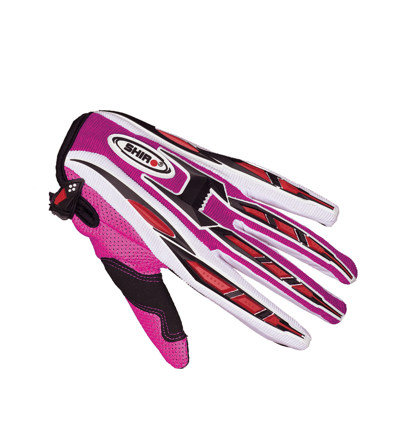 Comprar SHIRO HELMETS Luvas Off Road SHIRO MX-01 rosa