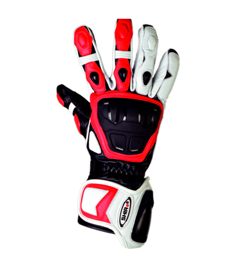 Comprar SHIRO HELMETS Guantes Racing SHIRO SH-07 GP Racing rojo, blanco