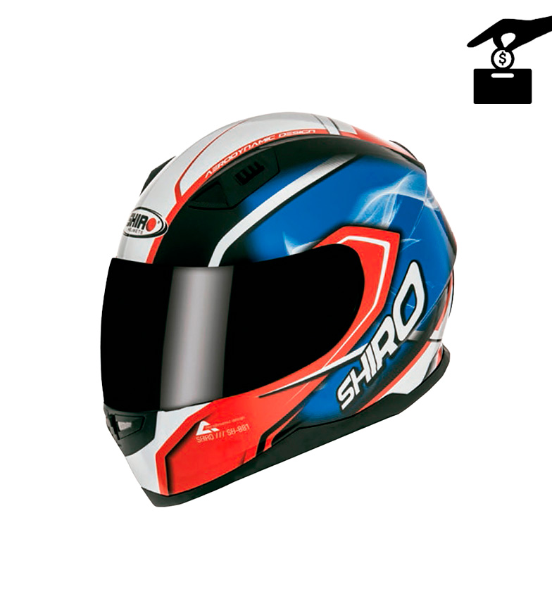 Comprar SHIRO HELMETS Hucha Mini Casco Motegi
