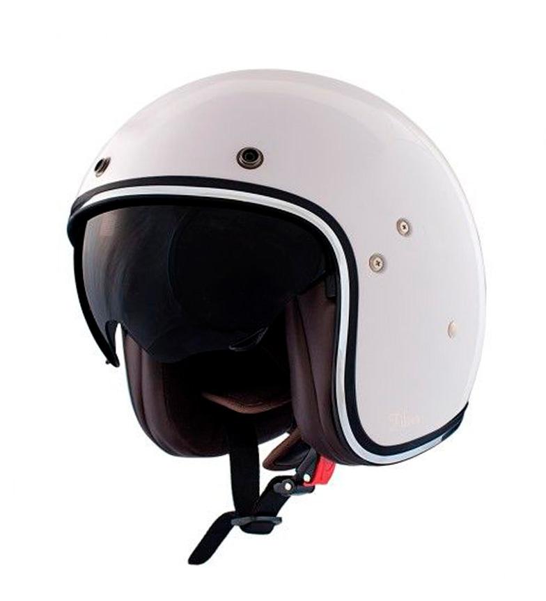 Comprar SHIRO HELMETS Helmet jet 235 Fiber white