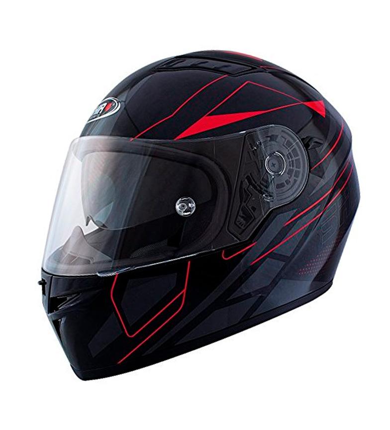 Comprar SHIRO HELMETS Capacete completo SH 600 Elite preto, vermelho