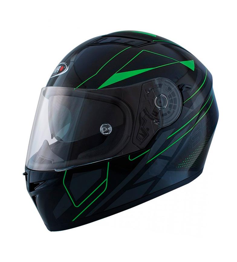Comprar SHIRO HELMETS Casque intégral SH 600 Elite noir mat, vert