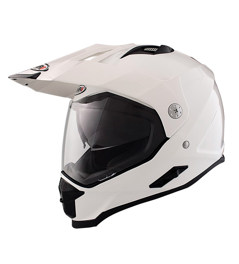 Comprar SHIRO HELMETS Casco Off Road 313 Monocolor branco