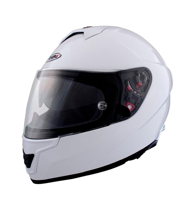 Comprar SHIRO HELMETS Casco integral SH 351 Fiber blanco