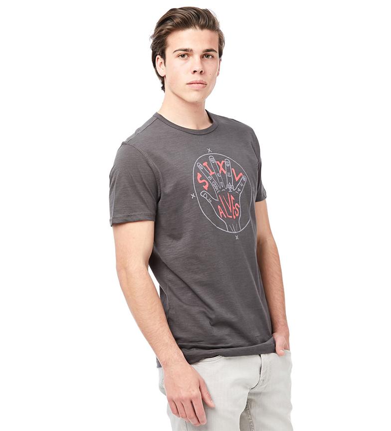 Six Ezra Valves Camiseta Gris Ezra Camiseta Gris Six Valves MpUzSqV