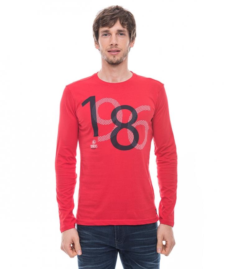 Valves Six Rojo Six Camiseta Rush 8wmn0Nv