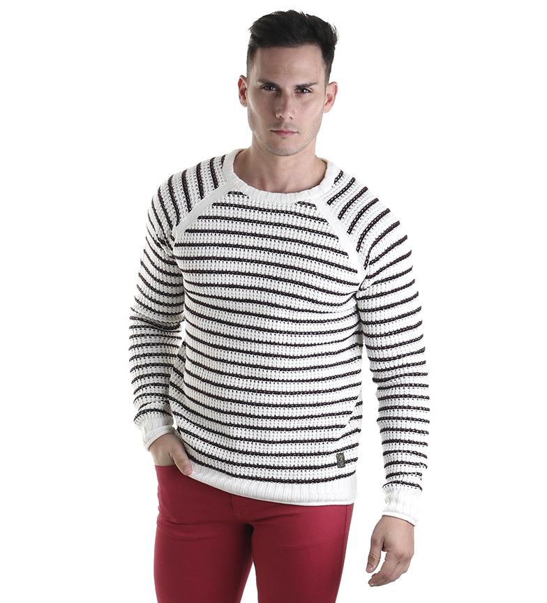 Comprar Six Valves Algodão e seda suéter branco