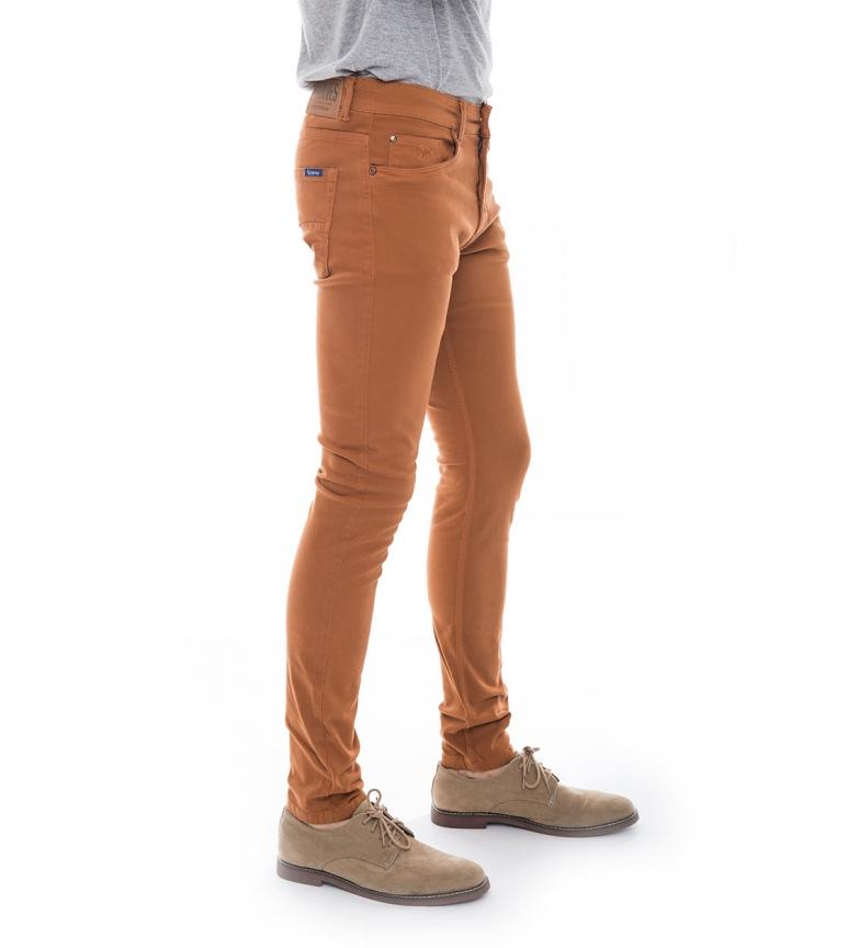 Pantaln Naranja Six Valves Harolt Skinny edCxEQrBoW