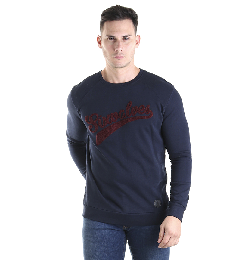 Comprar Six Valves Sweat-shirt avec logo marin
