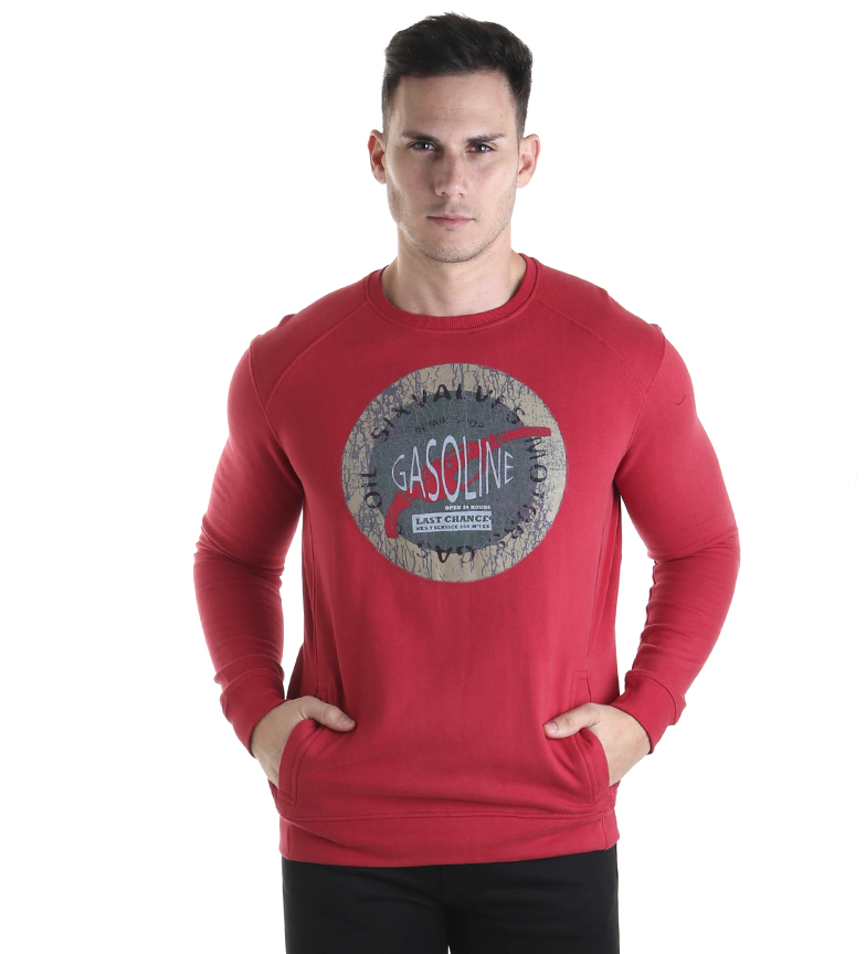 Comprar Six Valves Sweatshirt Peach Premium red