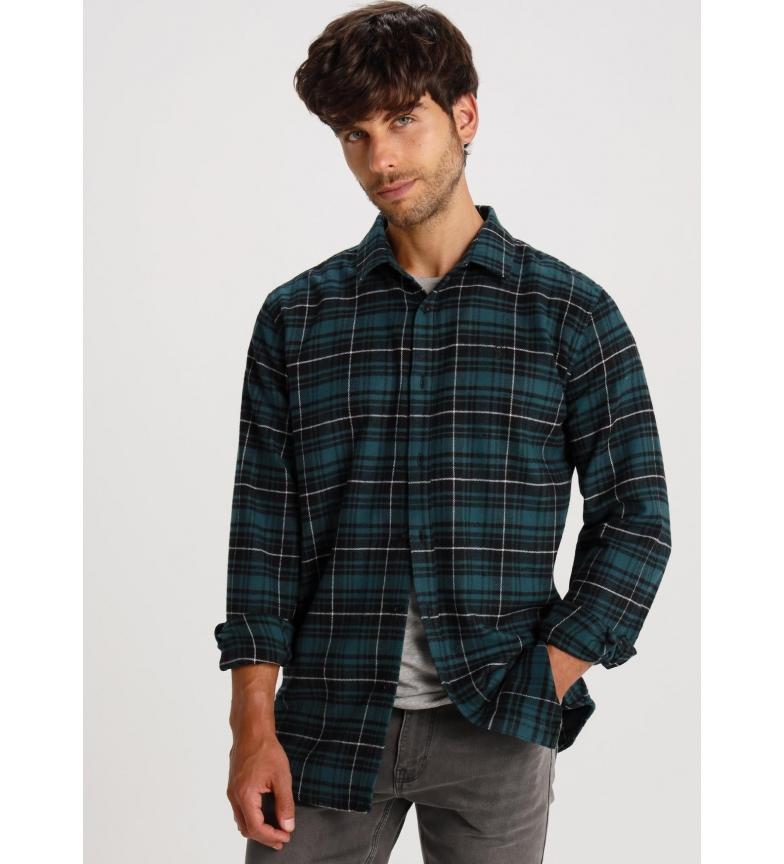Six Valves Camisa manga larga Cuadros