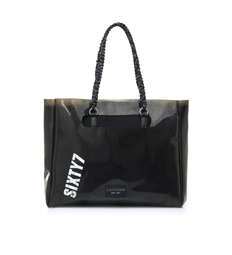 SixtySeven Bolso Remo negro -11x33x40cm-