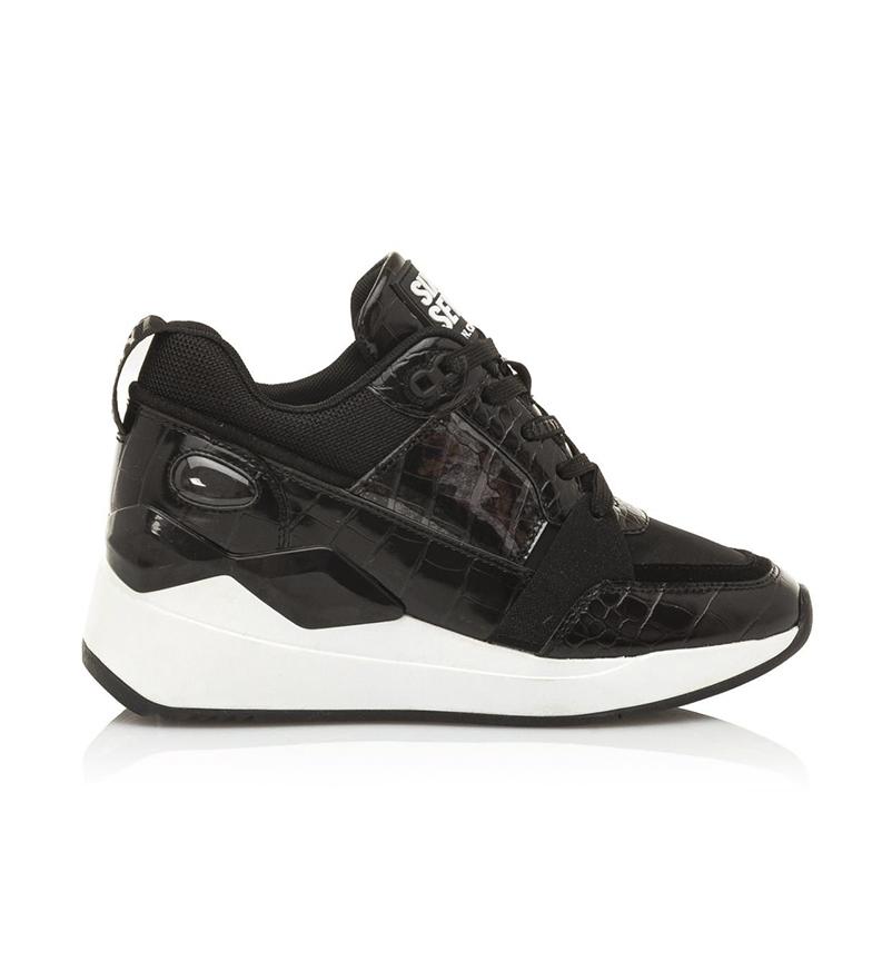 Comprar SixtySeven Sapatos de couro Larin Preto - altura da cunha: 5 cm