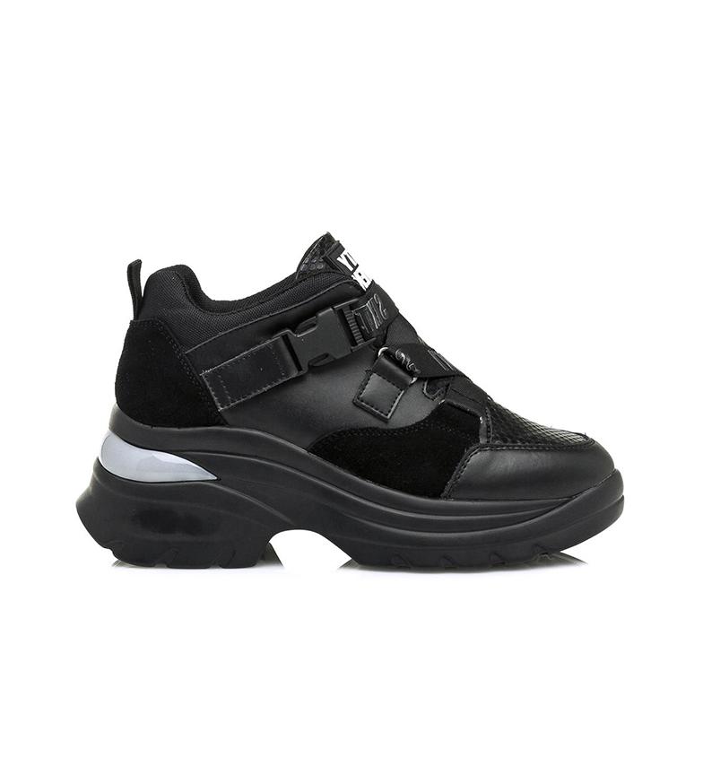 Comprar SixtySeven Scarpe in pelle nera Landy - Altezza zeppa: 6 cm