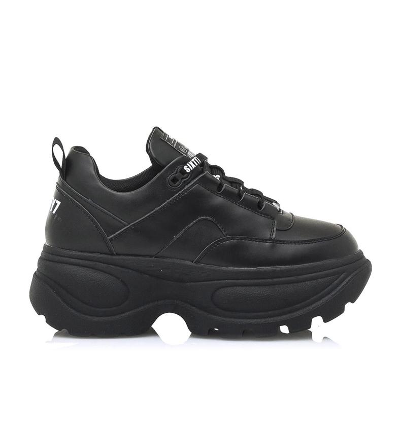 Comprar SixtySeven Scarpe in pelle nera Spice -Platform altezza: 5 cm