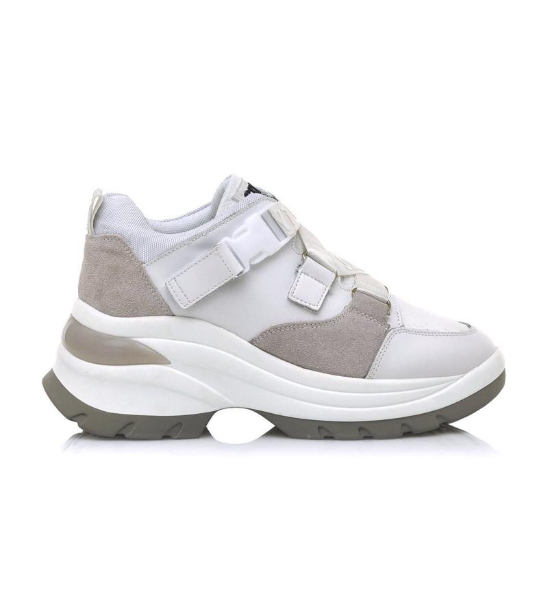 Comprar SixtySeven Baskets Landy blanches en cuir - hauteur de la plateforme : 7cm