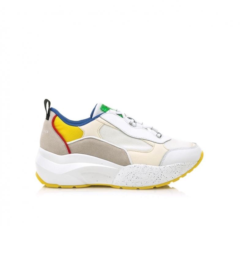 Comprar SixtySeven Sneakers in pelle 79816 bianca, multicolore
