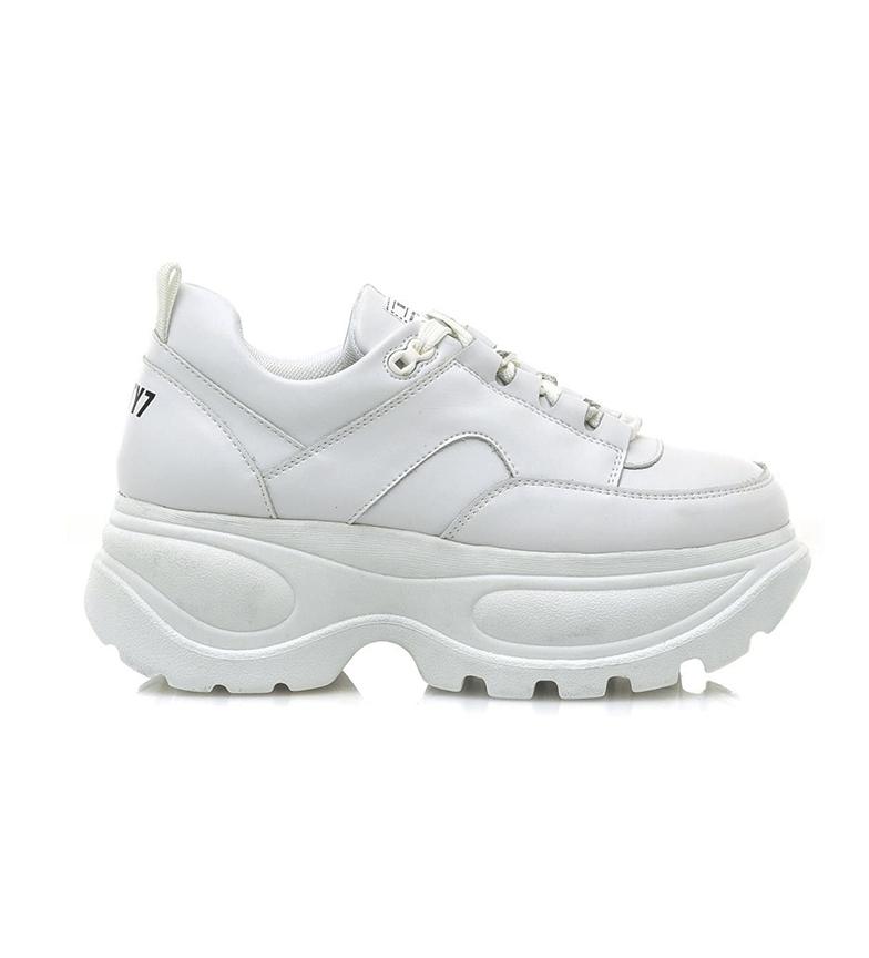 Comprar SixtySeven Zapatillas de piel Spice blanco -Altura plataforma: 6cm-