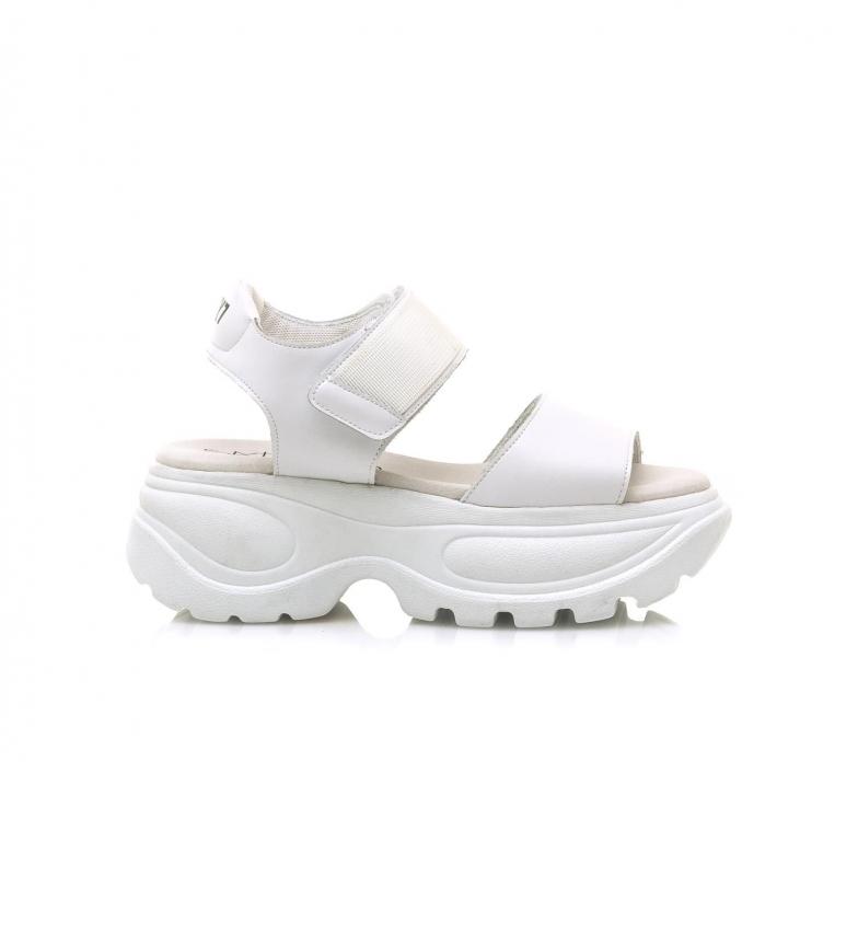 Comprar SixtySeven Flash white sandals -Platform height: 6,5 cm