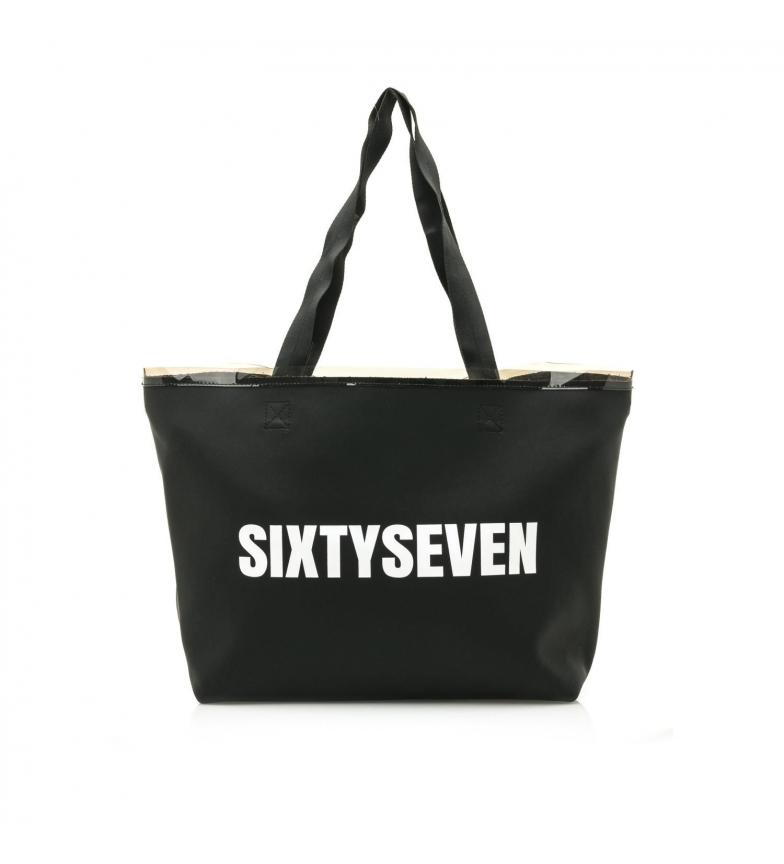 Comprar SixtySeven Bolso Shopper negro -56x35x17cm-