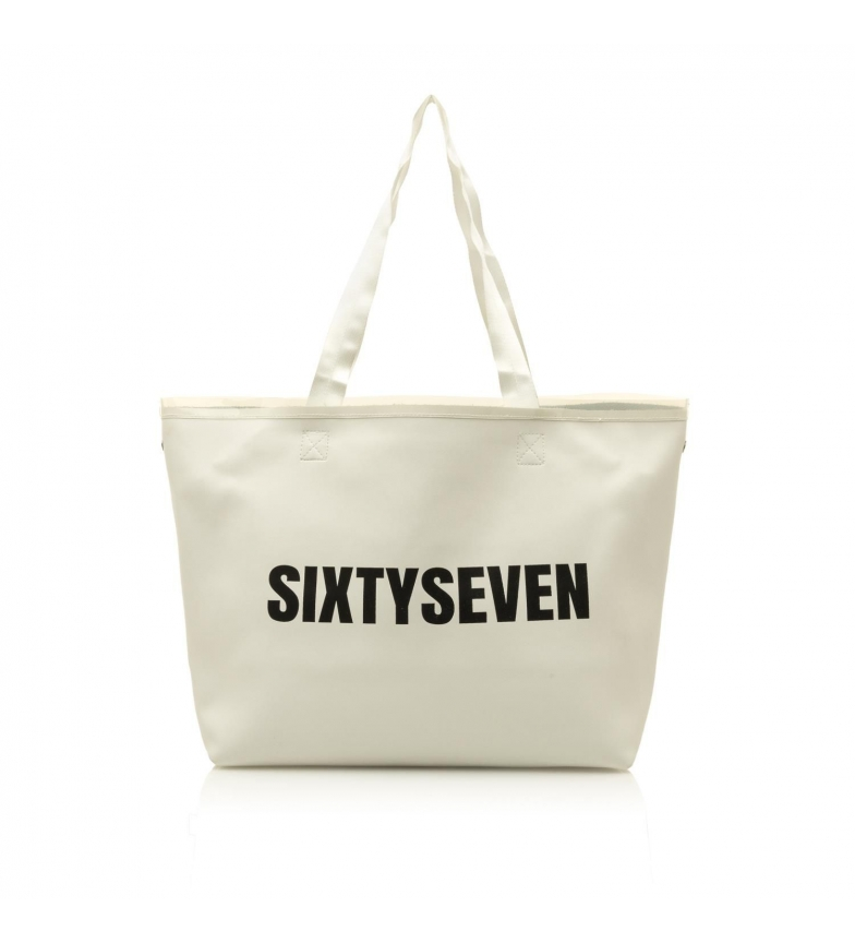 Comprar SixtySeven Borsa Shopper Bianca -56x35x17cm-