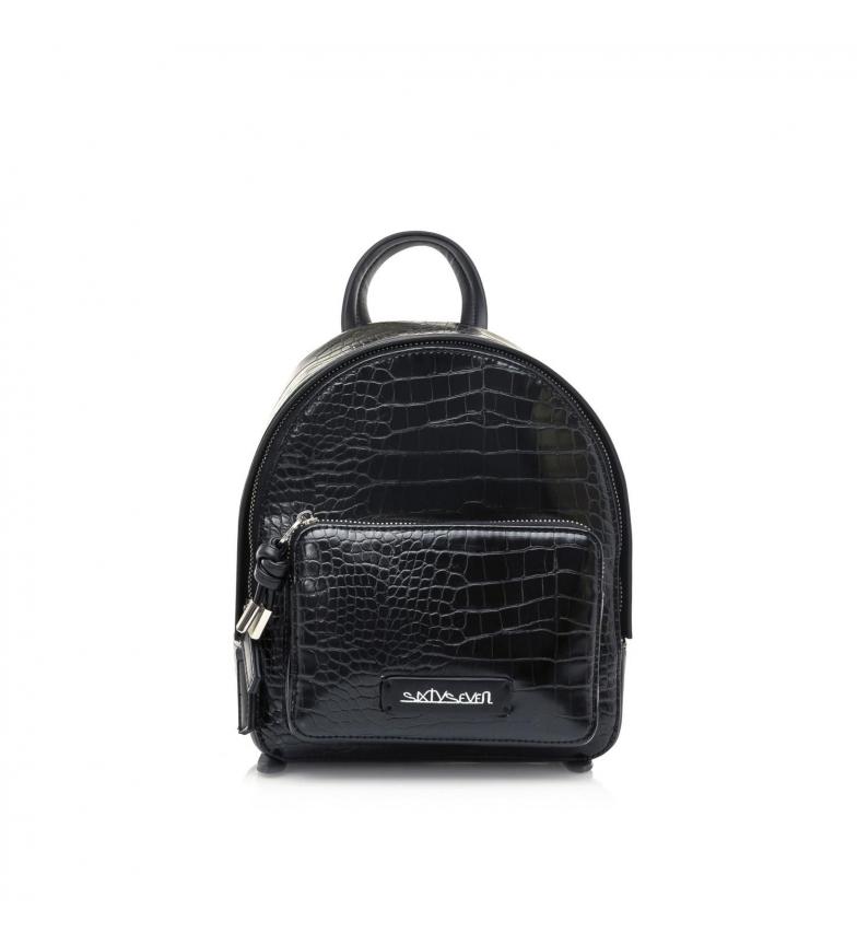 Comprar SixtySeven Mochila Sila negro -21x24x8.5cm-