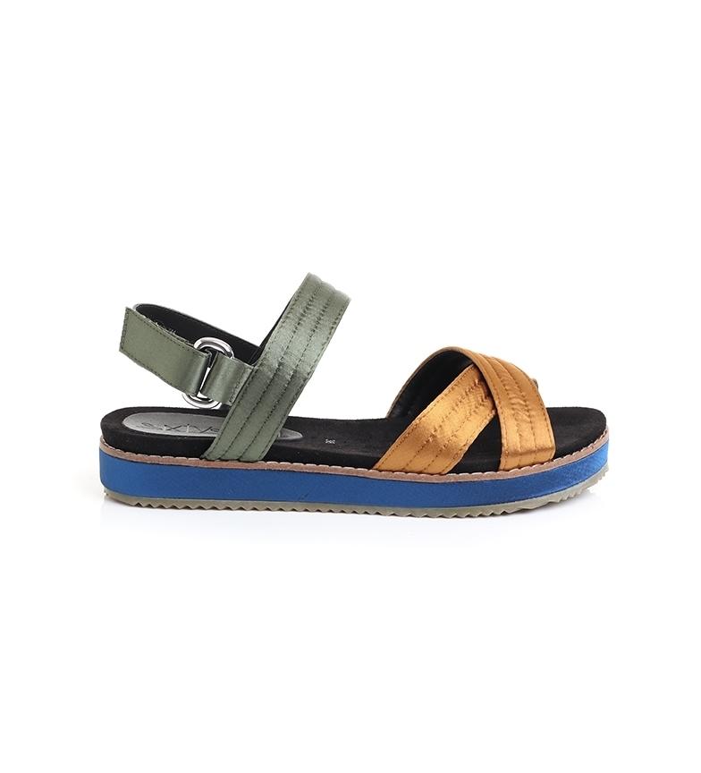 SixtySeven Sandals 79558 ochre, khaki