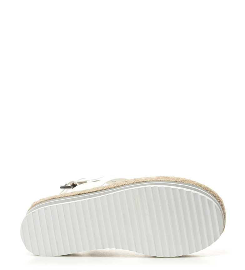 SixtySeven Sandalias Forbia blanco Altura plataforma: 5,5cm