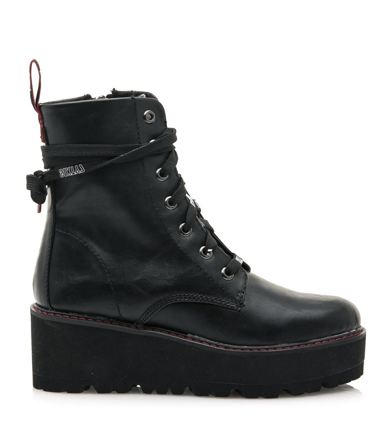 Comprar SixtySeven Vasey boots black - wedge height: 6cm