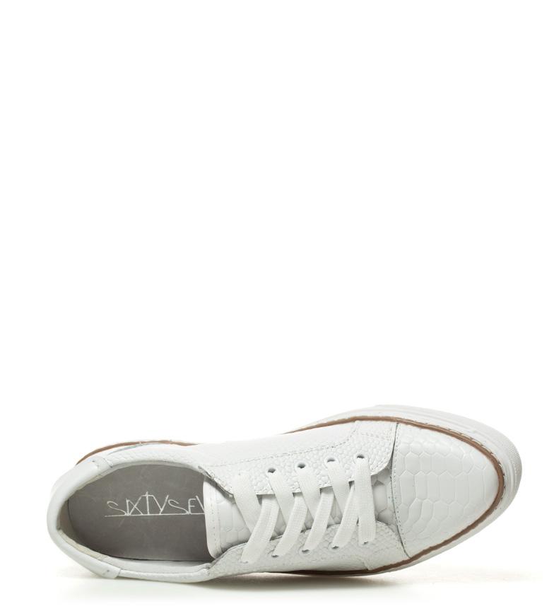 SixtySeven Zapatillas de piel Juary blanco