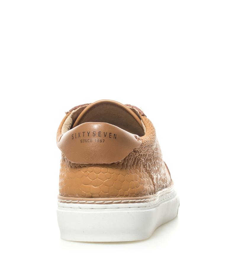 SixtySeven Zapatillas de piel Juary camel